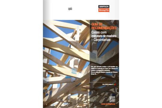 Catálogo Técnico Simpson Strong-Tie - casas de madeira