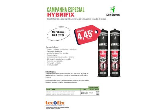 Tecofix - Campanha Especial Hybrifix
