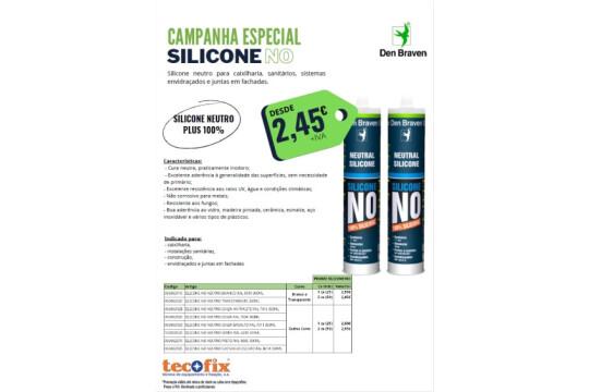 Tecofix - Campanha Especial Silicone NO